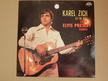 Karel Zich ‎– Let Me Sing Some Elvis Presley Songs (Supraphon ‎– 1113 3318) NM-/NM-