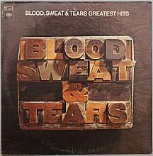 "Blood, Sweat & Tears  ""Greatest Hits""- 1972 - LP"
