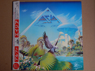 Asia ‎– Alpha (Geffen Records ‎– 25AP 2650, Japan) 2 insert, OBI NM/ NM-