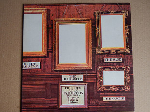 Emerson, Lake & Palmer ‎– Pictures At An Exhibition (Atlantic ‎– P-10112A, Japan) insert NM-/EX+