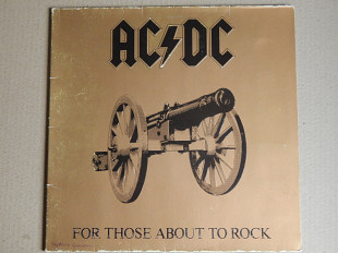 AC/DC ‎– For Those About To Rock We Salute You (Atlantic ‎– ATL 50851, Germany) EX+/NM-