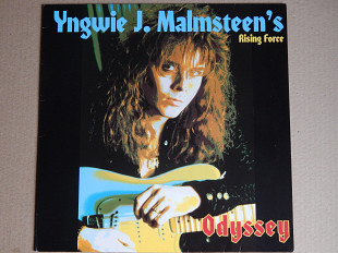 Yngwie J. Malmsteen's Rising Force ‎– Odyssey (Polydor ‎– 835 451-1, Germany) insert NM-/NM-