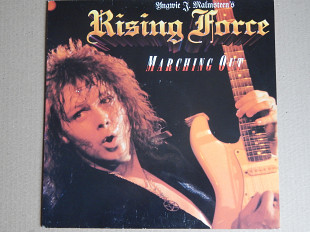 Yngwie J. Malmsteen's Rising Force ‎– Marching Out (Polydor ‎– 825 733-1, Germany) insert NM-/NM-
