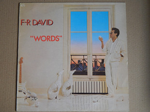 F-R David ‎– Words (Carrere ‎– CRE 25216, Spain) EX+/EX+