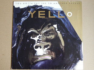 Yello ‎– You Gotta Say Yes To Another Excess (Vertigo ‎– 812 166-1, Germany) EX+/NM-