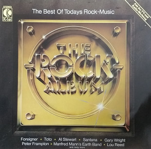 The Rock Album (The best of todays Rock-Music) Foreigner, Uriah Heep, Santana, Van Halen and others