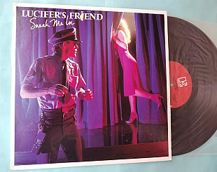 "Lucifer's Friend "" Sneak Me In "" 1980 / Electra 6E 265 , usa , m/m"