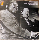 Count Basie & Lester Young at Newport (Amiga Jazz 8 50 076 443 made in GDR)