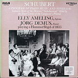 Schubert* – Elly Ameling, Jörg Demus - A Program Of Piano Music And Songs (LP) Label:RCA Victrola