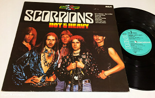 Scorpions ‎– Hot & Heavy (The Best) 1982 RCA Ger EX+(nm-)/NM-