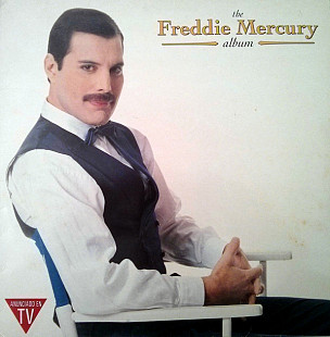 Freddie Mercury EX Queen (The Freddie Mercury Album) 1992. (LP). 12. Vinyl. Пластинка. Spain.