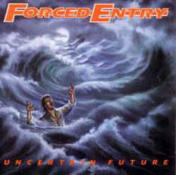 Forced Entry ‎– Uncertain Future/ The Shore LP