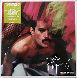 Freddie Mercury ЕХ Queen ‎ (Never Boring) 1985-92. (LP). 12. Vinyl. Пластинка. Europe. S/S. Запечата