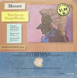Denis Matthews ‎– Mozart - The Great Piano Works