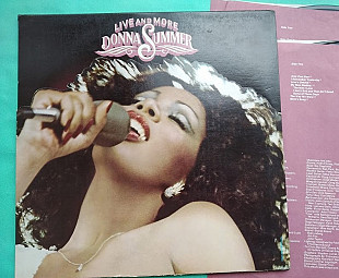 DONNA SUMMER - Live and More 2LP / Casablanca ‎– NBLP 7119 , orig. , usa , m-/m-