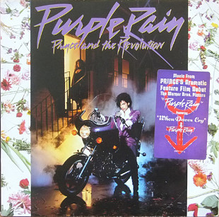 Prince And The Revolution ‎ (Purple Rain) 1984. (LP). 12. Vinyl. Пластинка. Germany.