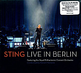 Sting Featuring The Royal Philharmonic Concert Orchestra ‎– Live In Berlin CD+DVD