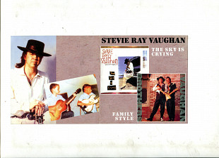 "Продаю CD Stevie Ray Vaughan ""The Sky Is Crying"" – 1991 / ""Family Style"" – 1990."