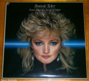 BONNIE TYLER Faster Than The Speed Of Night 1983 Holl CBS EX\EX+ OIS
