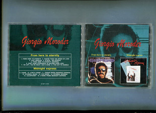 "Продаю CD Giorgio Moroder ""From Here To Enternity"" – 1977 / ""Midnight Express"" – 1978"