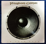 Kingdom Come ‎– In Your Face 1989 Polydor Ger NM-/EX+(nm-)insert