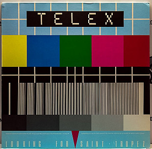 Telex ‎– Looking For Saint Tropez 1979 Hansa Ger EX+/EX(+) insert