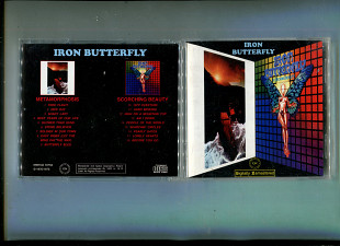 "Продаю CD Iron Butterfly ""Metamorphosis"" – 1970 / ""Scorching Beauty"" – 1975"