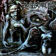 Resurrected ‎– Butchered In Excrement LP