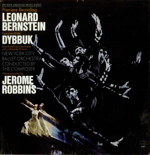 Leonard Bernstein, David Johnson (49), John Ostendorf, New York City Ballet Orchestra, Jerome Robbin