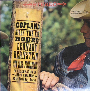 Copland* - Leonard Bernstein, New York Philharmonic* - Billy The Kid / Rodeo (LP, Album)