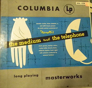 Menotti* - The Medium And The Telephone (2xLP, Mono + Box)