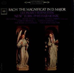 Leonard Bernstein And The New York Philharmonic Orchestra - Bach: The Magnificat In D Major (LP)