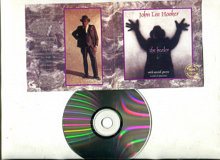 "Продаю CD John Lee Hooker ""The Healer"" – 1989 With special guests: Carlos Santana & The Santana Band"