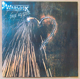 Warlock (Doro) ‎– True As Steel 1986 Vertigo Ger NM-/EX+ insert