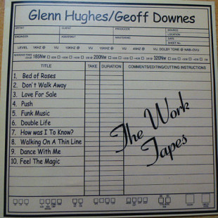 Glenn Hughes / Geoff Downes- The Work Tapes