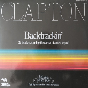 "Eric Clapton ""Backtrackin'""""(22 Tracks spanning the career of a Rock Legend) 2LP"