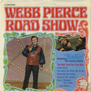 "Webb Pierce ‎– ""Road Show"" (US 1971)"