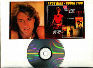 "Продаю CD Andy Gibb ""After Dark"" – 1980 / Robin Gibb ""How Old Are You?"" – 1983"