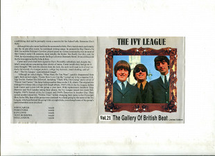 Продаю CD The Ivy League – 1964 – 1967 The Galery Of British Beat. Vol. 21