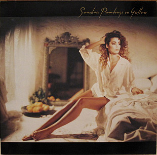 Sandra ‎ (Paintings In Yellow) 1990. (LP). 12. Vinyl. Пластинка. Germany.