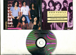 "Продаю CD Deep Purple ""Gemini Suite Live"" – 1970 Deep Purple and The Orchestra Of The Light Music So"