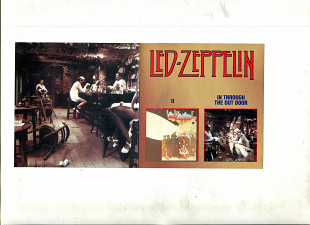 "Продаю CD Led Zeppelin ІІ – 1969 / ""In Through The Out Door"" – 1979"