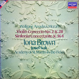 Wolfgang Amadeus Mozart, Iona Brown, Josef Suk, The Academy Of St. Martin-in-the-Fields – Violin Conce