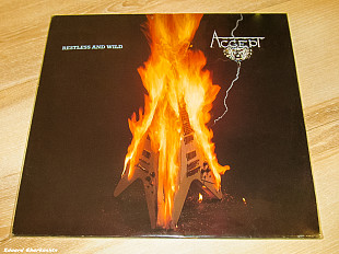 Accept ‎– Restless And Wild 1982 Brain Ger EX+/EX+(nm-)