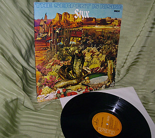 Styx The Serpent Is Rising 1973 RCA Germ. NM /NM