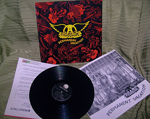 AEROSMITH PERMANENT VACATION 1987 GEFFEN Germ. PROMO NM / NM