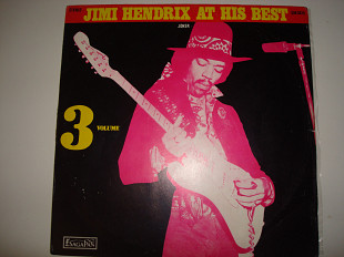 JIMI HENDRIX-The At his best Vol.3-1972 Orig.Psychedelic Rock, Rhythm & Blues