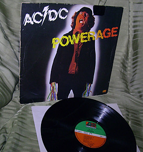 AC / DC POWERAGE 1978 Atlantic Germ. VG ++ / EX +