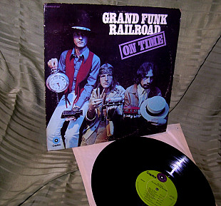 GRAND FUNK On Time 1969 Capitol USA ST-307 EX / NM