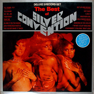 SILVER CONVENTION The Best Of (2LP) (Long Versions: Fly Robin Fly, Save Me, Get Up And Boogie) 1978 US